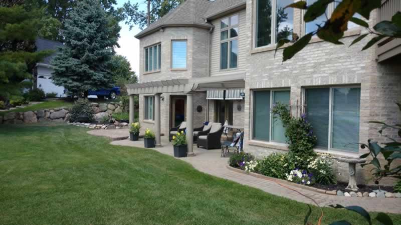 White Lake, Michigan Paver Walkway Design & Installation