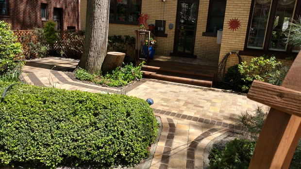 Palmer Park, Detroit: A New Take on Walkways and Patios